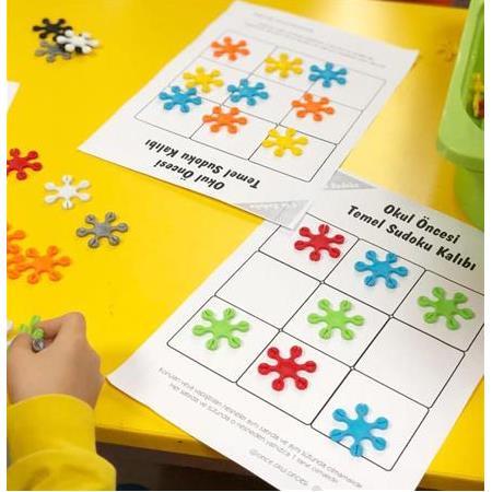 Okul Oncesi Sudoku Etkinlikleri Ve Sudoku Kaliplari Okul Oncesi