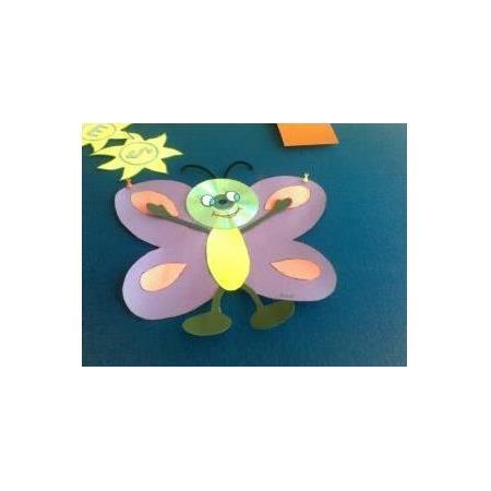 Kelebekleri Sayalim Etkinligi Okul Oncesi Destek