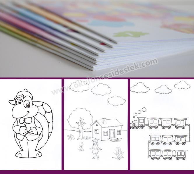 Super Boyama Kitaplari Seti 3 6 Yas Okul Oncesi Destek