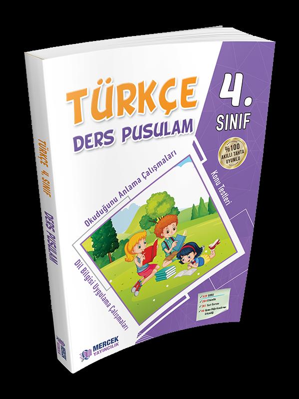 4 Sinif Turkce Ders Pusulam Calisma Kitabi Okul Oncesi Destek