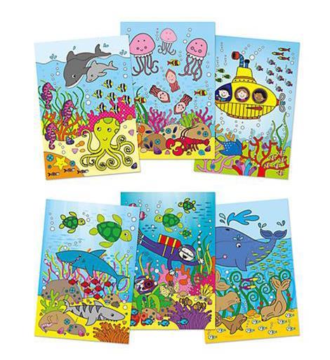Sihirli Kitap Water Magic Deniz Alti Temali 3 Yas Okul Oncesi