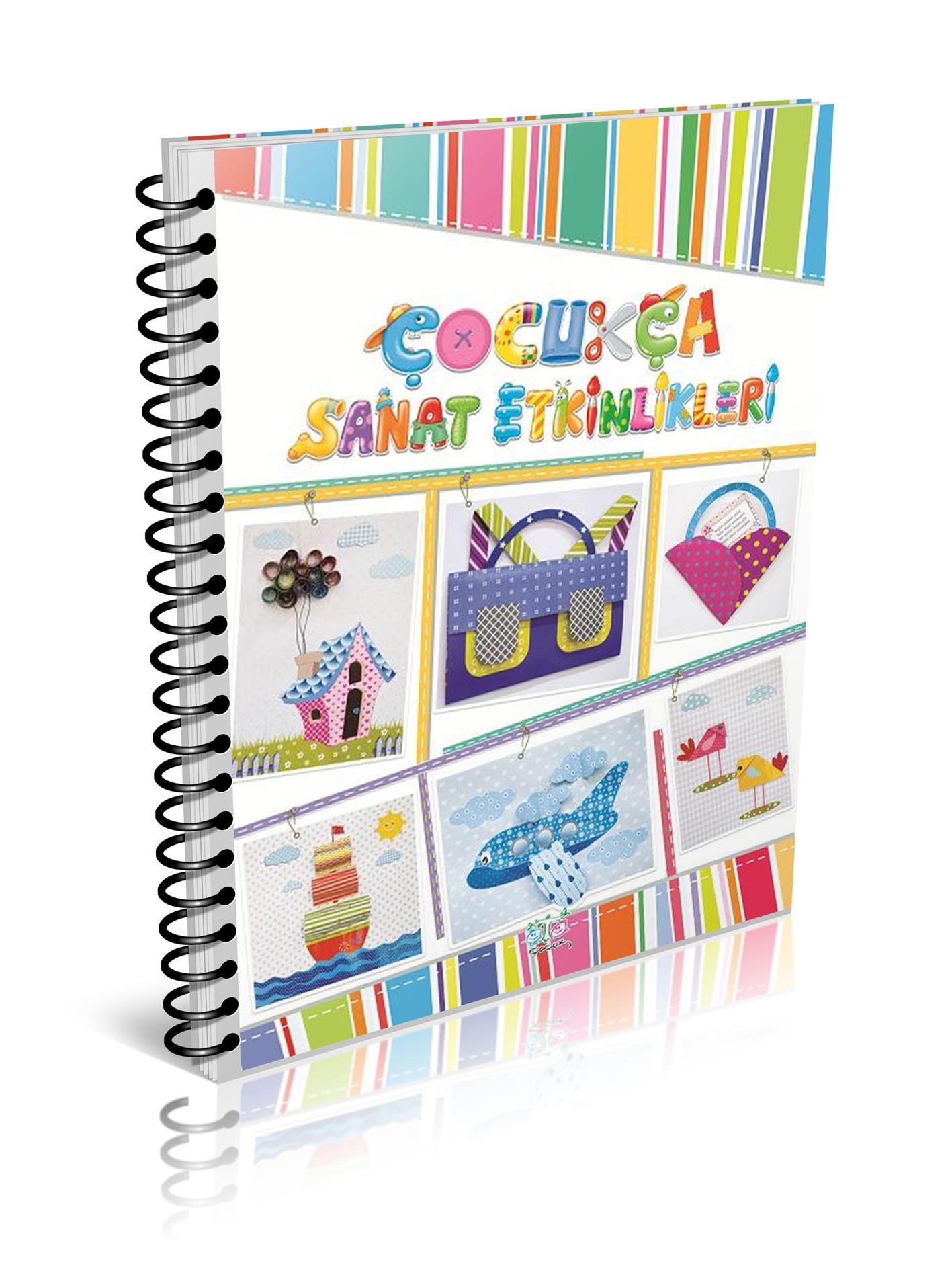 4 6 Yas Cocuklara Cocukca Sanat Etkinlikleri Kitabi Okul Oncesi