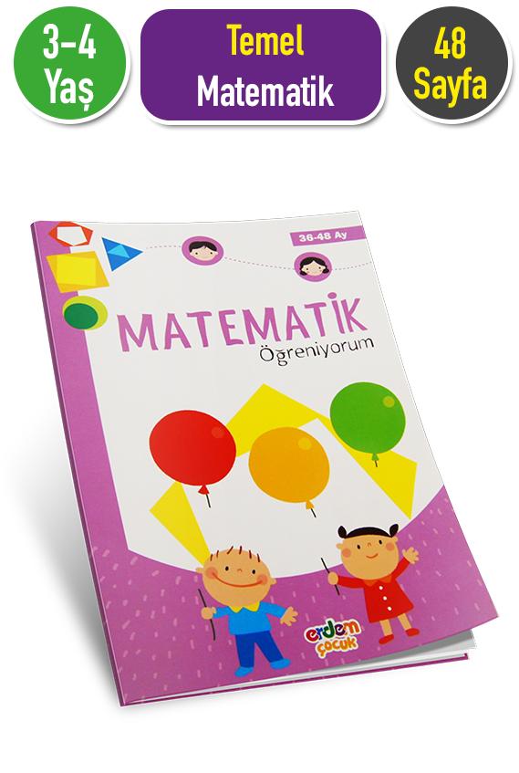Matematik Etkinlik Kitabi 3 4 Yas Erdem Cocuk Yayinlari Okul