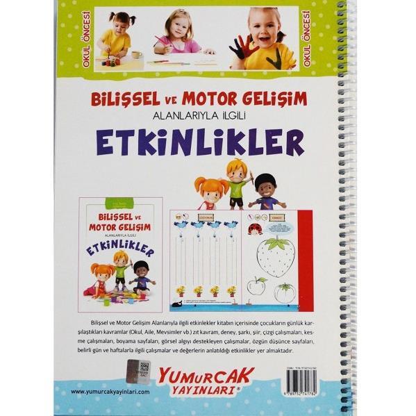 Bilissel Ve Motor Gelisim Etkinlikleri Kitabi 5 6 Okul Oncesi