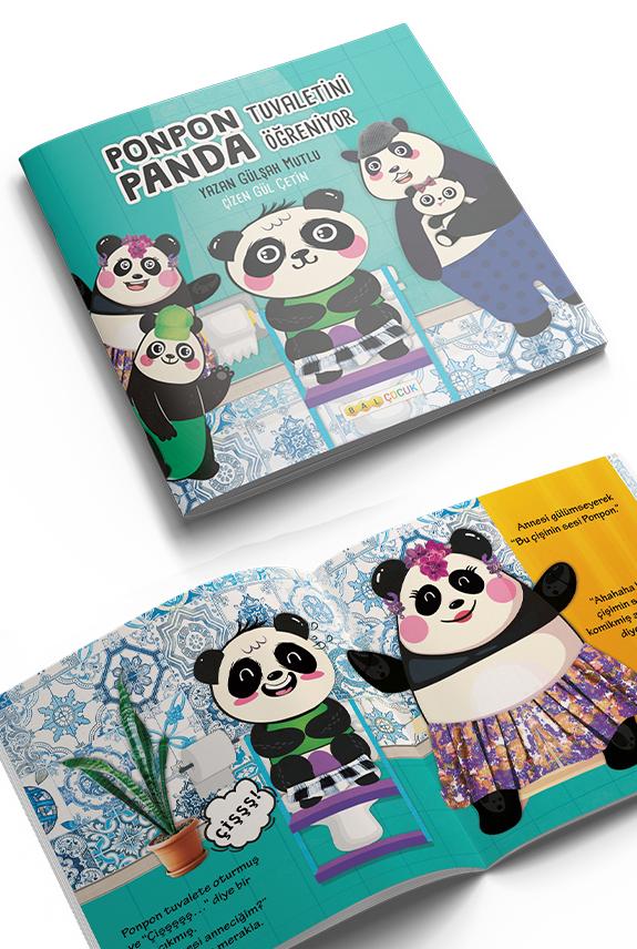 Ponpon Panda Tuvaletini Ogreniyor Hikaye Kitabi Gulsah Mutlu