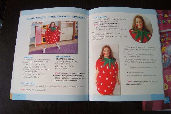 Renkli Dunyalar Kostumler Ve Yuz Boyama Ornekleri Kitabi Okul
