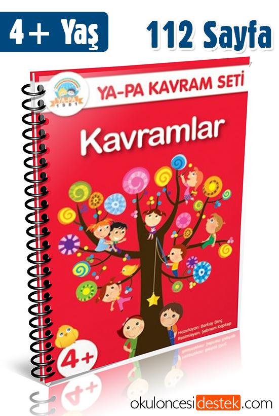 4 Yas Kavramlar Etkinlik Kitabi Yapa Yayinlari Okul Oncesi Destek