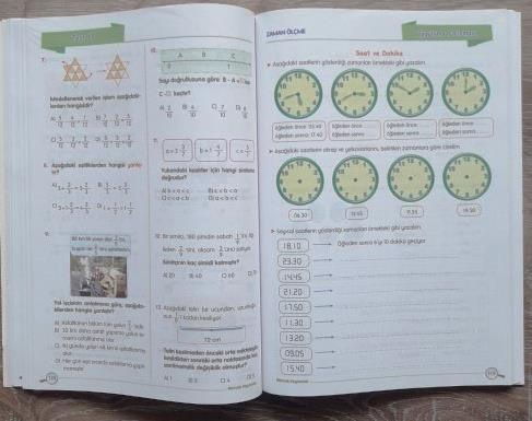 4 Sinif Matematik Ders Pusulam Calisma Kitabi Okul Oncesi Destek