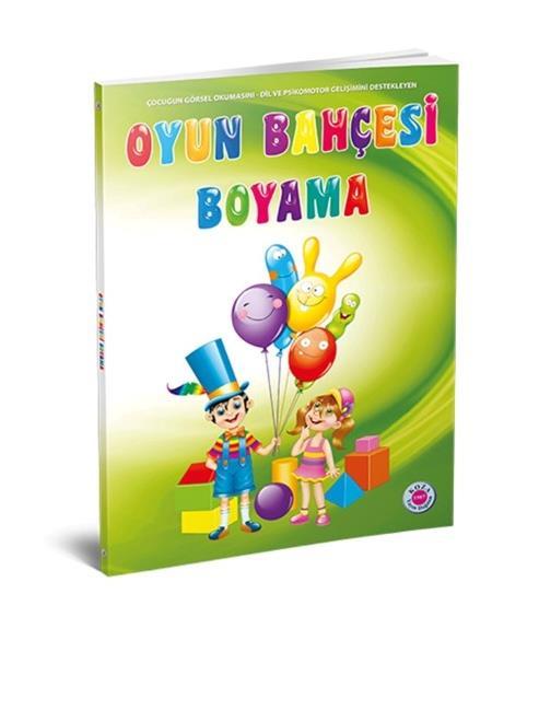 Koza Yayincilik Ilkokul Oyun Bahcesi Boyama Seti Okul Oncesi Destek