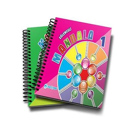Boyama Ve Mandala Kitaplari Okul Oncesi Destek